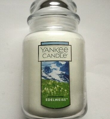 Yankee Candle My Favorite Things Edelweiss 22 Oz. Lge Jar Sound Of Music Vhtf
