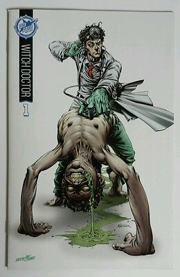 Witch Doctor #1 Color Variant 2015 Sdcc 5th Anniversary Skybound Box Set