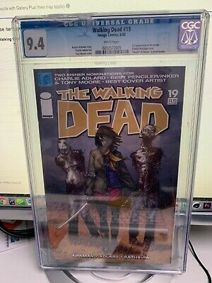 The Walking Dead #19 Cgc 9.4 Comic Book Image 2005 1st Appearance Michonne
