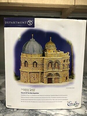 Dept 56 The Easter Story-the Holy Land Collection-complete Set New Mib