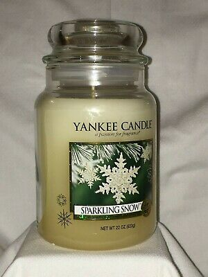 Yankee Candle - Sparkling Snow Large Jar Candle