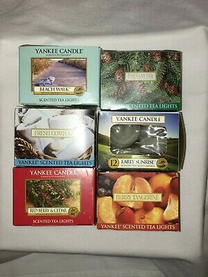 Yankee Candle - Collection Of Tealights, Box