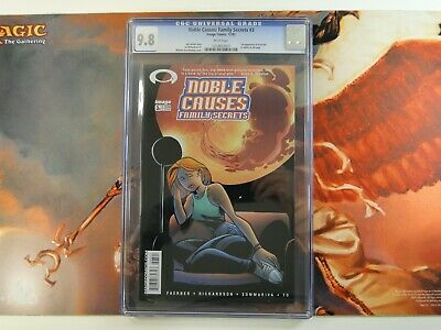 Noble Causes Family Secrets 3 A Cgc 9.8 (robert Kirkman) 1st App Invincible