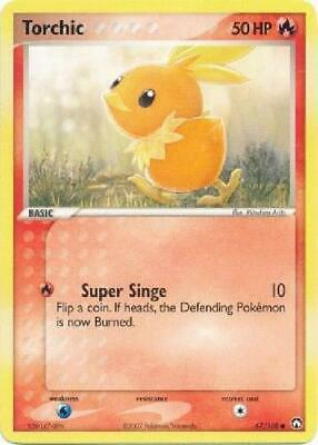9x Torchic - 67/108 - Common PL Power Keepers Pokemon