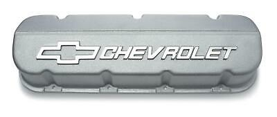 Gm Performance Cast Aluminum Valve Covers 12371244 Chevy Bbc 396 427 454 Natural