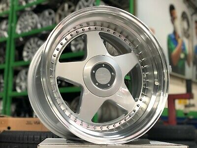New 17 Inch Staggered Oz Futura Classic Rim Bmw E39 E38 E32 E34 E60 (set Of 4)