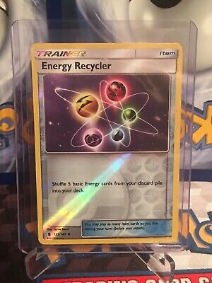Pokemon Guardians Rising Energy Recycler 123/145 Uncommon - Reverse Holo NM/MINT