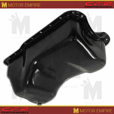 Fits 1988-96 Ford Ssb Mall Block 351w Windsor Stock Capacity Truck Oil Pan Black