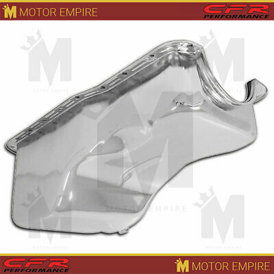 Fits 1969-1981 Ford Sb Small Block 351w Windsor Stock Capacity Oil Pan Chrome
