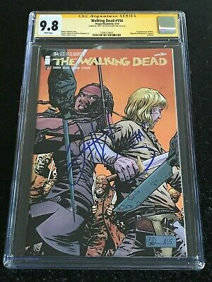 Signed Walking Dead #154 Cgc 9.8 By Ryan Hurst 1st Appearance Of Beta Whisperers