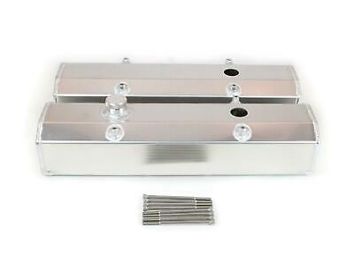 Canton Racing Fabricated Aluminum Valve Covers 65-201 Chevy Sbc 283 305 350 400