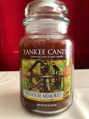 Yankee Candle Treehouse Memories Large Jar Candle