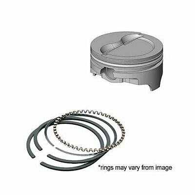 Piston And Ring Kit Forged Step Dish 4.155 In. Bore Chevy Small Block Kit