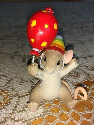 Charming Tails,today We Celebrate You 4035263, Mouse Birthday, 2013 Enesco