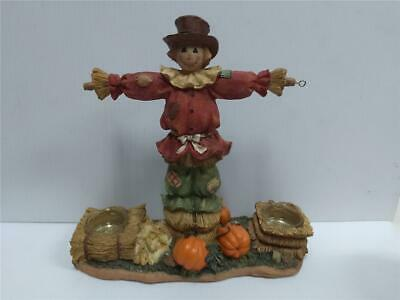 Yankee Candle Scarecrow Hanging Double Tart Warmer Burner Fall Halloween