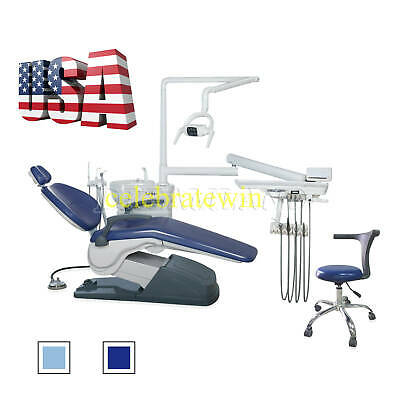 Fda Approved Dental Chair Unit Computer Controlled 110v Hard Leather Dc Motor Cl