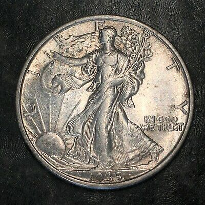 1935-s Walking Liberty Half Dollar - Totally Original -high Quality Scans #h987