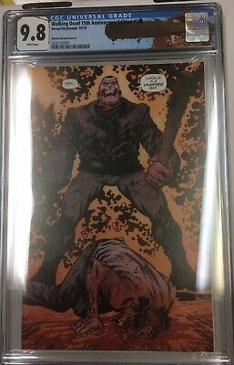Walking Dead 15th Anniversary Edition #100 (2018) Cgc 9.8 Harren Variant Cover E