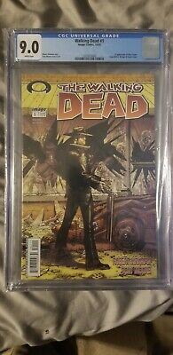 Walking Dead  Issue # 1 Cgc 9.0 First Appearance Of Rick Grimes And Shane