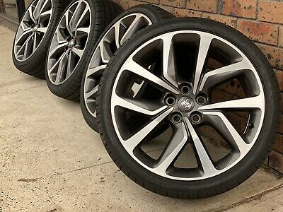 """4x Like New Genuine Holden Commodore 20"""" 2019  Wheels & New Tyres Vf Ve"""