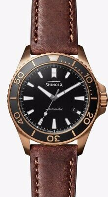 Shinola Bronze Monster Automatic 43mm Limited Edition Of 50 - Sold Out