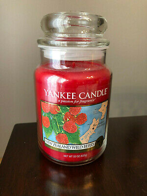 Yankee Candle World Journeys New Zealand - Wildberry 22 Oz - Rare/discontinued