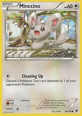 Pokemon TCG XY Fates Collide - Minccino 86/124 Common
