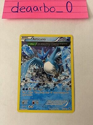 2015 Articuno 17/108 Rare Full Art N/M Roaring Skies Pokemon Card