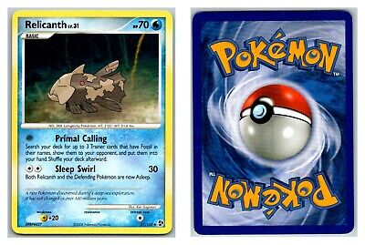 Relicanth 51/106 Great Encounters Pokemon Card LP Cond