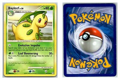 Bayleef 41/123 Mysterious Treasures Pokemon Card HP Condition