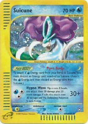 Suicune -  H25/H32  - Holo PL Aquapolis Pokemon
