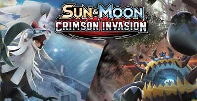 Pokemon cards Crimson Invasion /111 Single cards to choose from / FREE POST