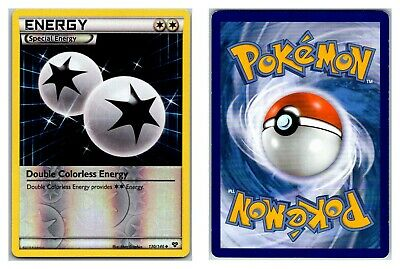 Double Colorless Energy 130/146 REVERSE HOLO XY Base Set Pokemon Card LP Cond