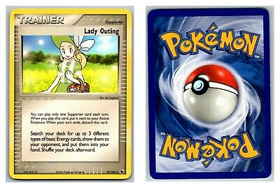 Lady Outing 83/109 Ruby & Sapphire Pokemon Card LP Cond .