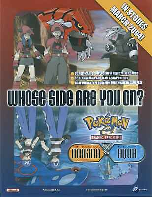 Pokemon cards EX Team Magma vs Team Aqua /95 Single cards New cards added !!!