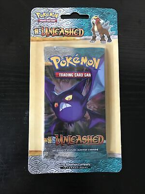 Pokemon TCG HS Unleashed Sealed Blister Booster Pack w/ Crobat Art