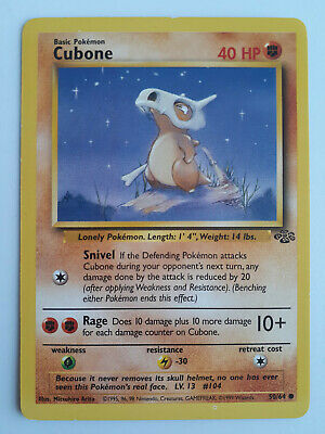 Pokemon || Cubone || Jungle || 50/64 || Common