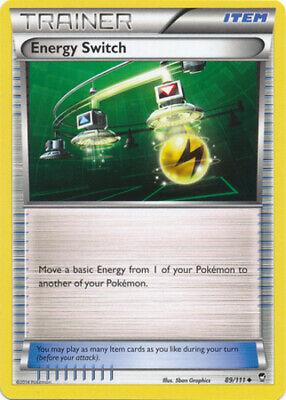 1x Energy Switch - 89/111 - Uncommon - Reverse Holo Furious Fists Pokemon Near M