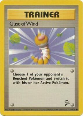 1x Gust of Wind - 120/130 - Common - Unlimited Edition Base Set 2 Pokemon Near M