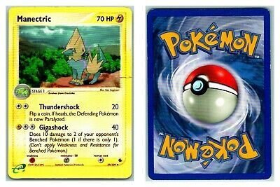Manectric 39/109 REVERSE HOLO Ruby & Sapphire Pokemon Card HP Cond
