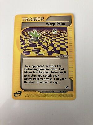 WARP POINT Trainer - 126/132 - Pokemon - Gym Challenge - NM = Buy more & save!