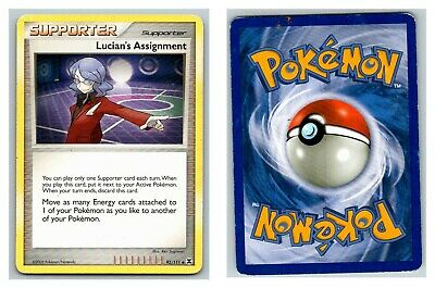 Lucian's Assignment 92/111 Rising Rivals Pokemon Card HP Condition