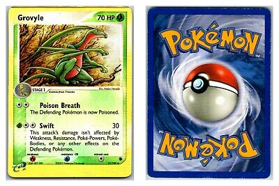 Grovyle 31/109 REVERSE HOLO Ruby & Sapphire Pokemon Card HP Condition