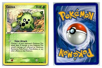 Cacnea 46/108 Power Keepers Pokemon Card LP-P Condition