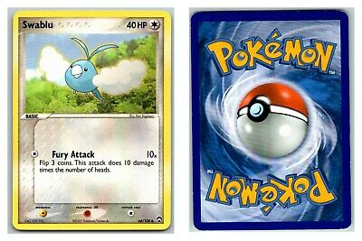Swablu 66/108 Power Keepers Pokemon Card P Condition