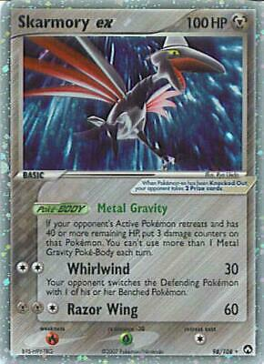 Skarmory ex 098 NM EX Power Keepers Pokemon Card Tracked Shipping