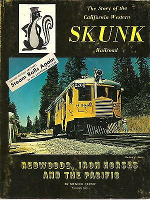 "Redwoods,iron Horses And The Pacific, The California Western ""skunk"" Railroad"