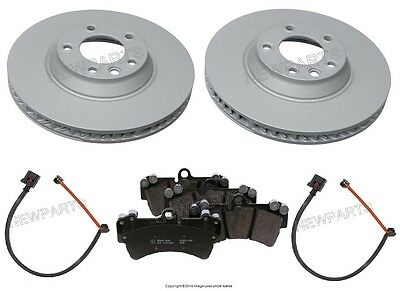 For Porsche Cayenne S 2003-2006 High Quality Front Brake Kit Discs Pads Sensors