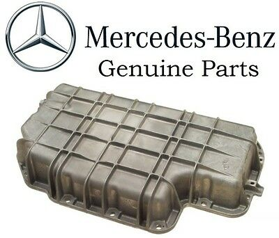 Genuine For Mercedes Oil Pan Lower Pan No Gasket Required