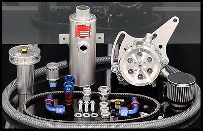 Bbc Chevy Gz Sportsman Complete Street/strip Vacuum Pump Kit # Bbc-svpbk103c
